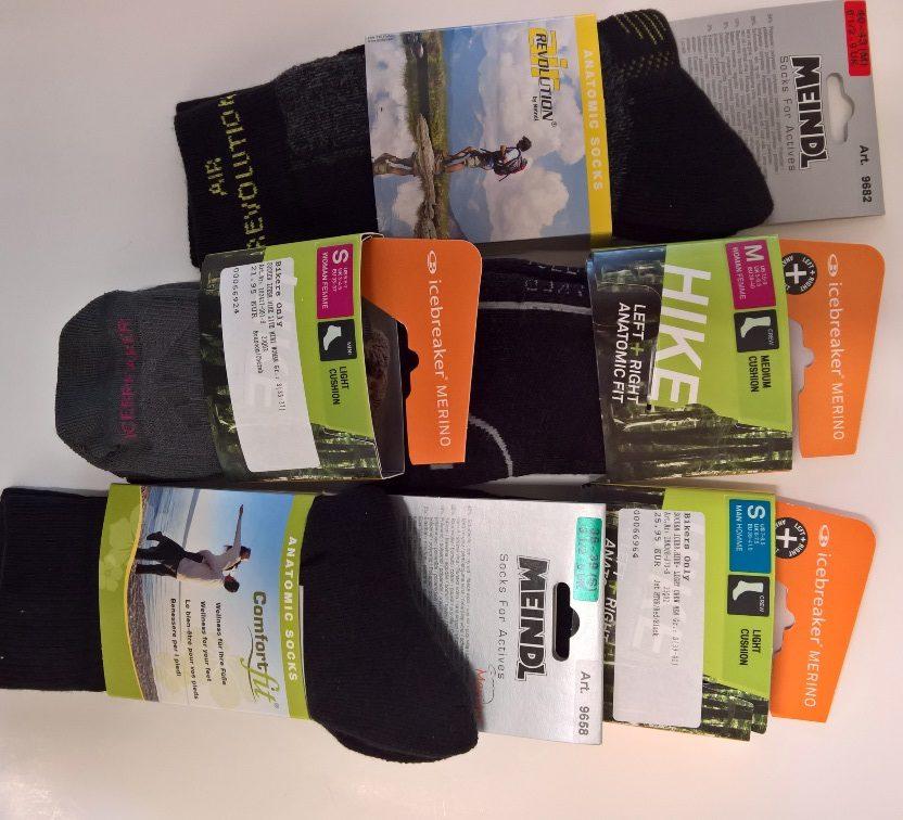 Welche Socken zum Wandern?